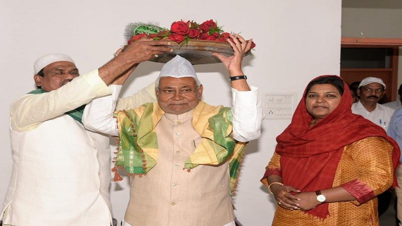सीएम नीतीश कुमार ने 808वें उर्स पर अजमेर शरीफ दरगाह भेजी चादर, मांगी दुआ