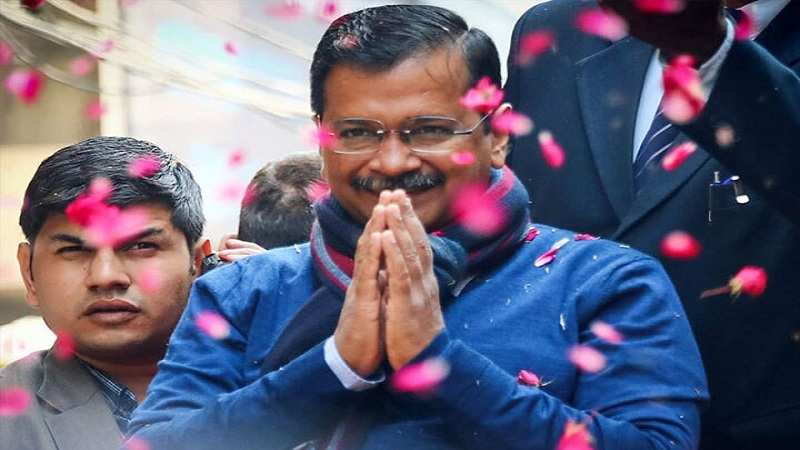 आज अरविंद केजरीवाल तीसरी बार सीएम के तौर पर लेंगे शपथ ग्रहण, कौन होंगे मंत्री पढ़ें पूरी खबर