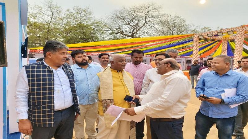 बिहार महोत्सव 2020 : होली के रंग में रंग गए गुजराती- प्रमोद कुमार