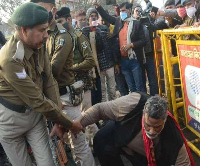 पप्पू यादव का राजभवन मार्च,पुलिस ने भांजी लाठियां, कई घायल