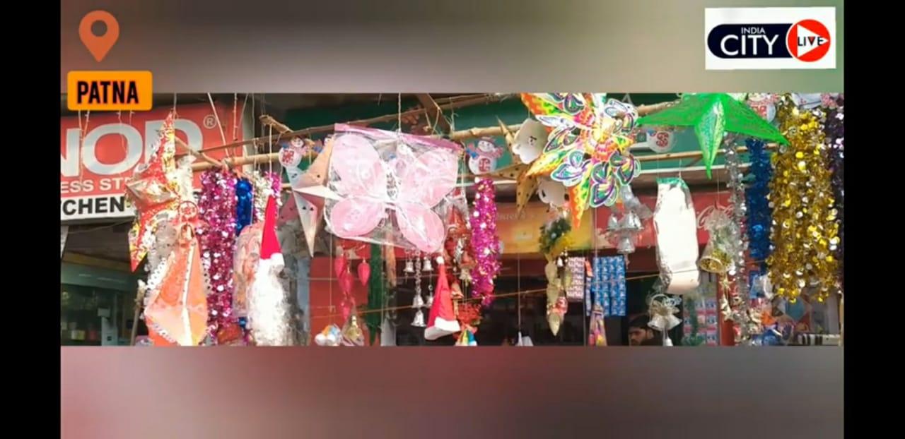 पटना में क्रिसमस की तैयारी