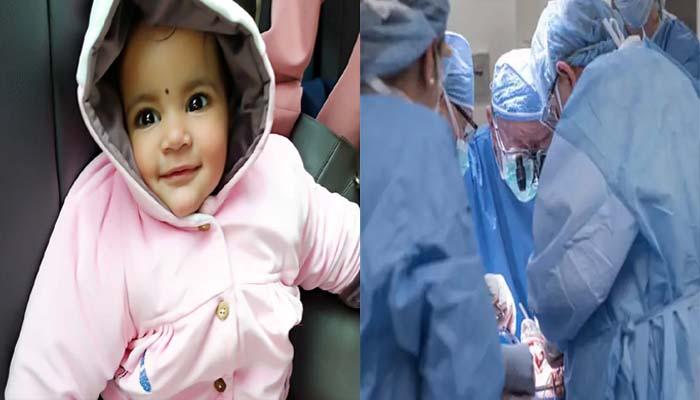20 महीने की  बच्ची बनी सबसे छोटी अंग दाता – बचाई 5 लोगों की जान