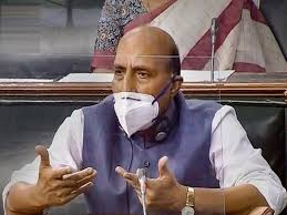 rajnath singh defense minister