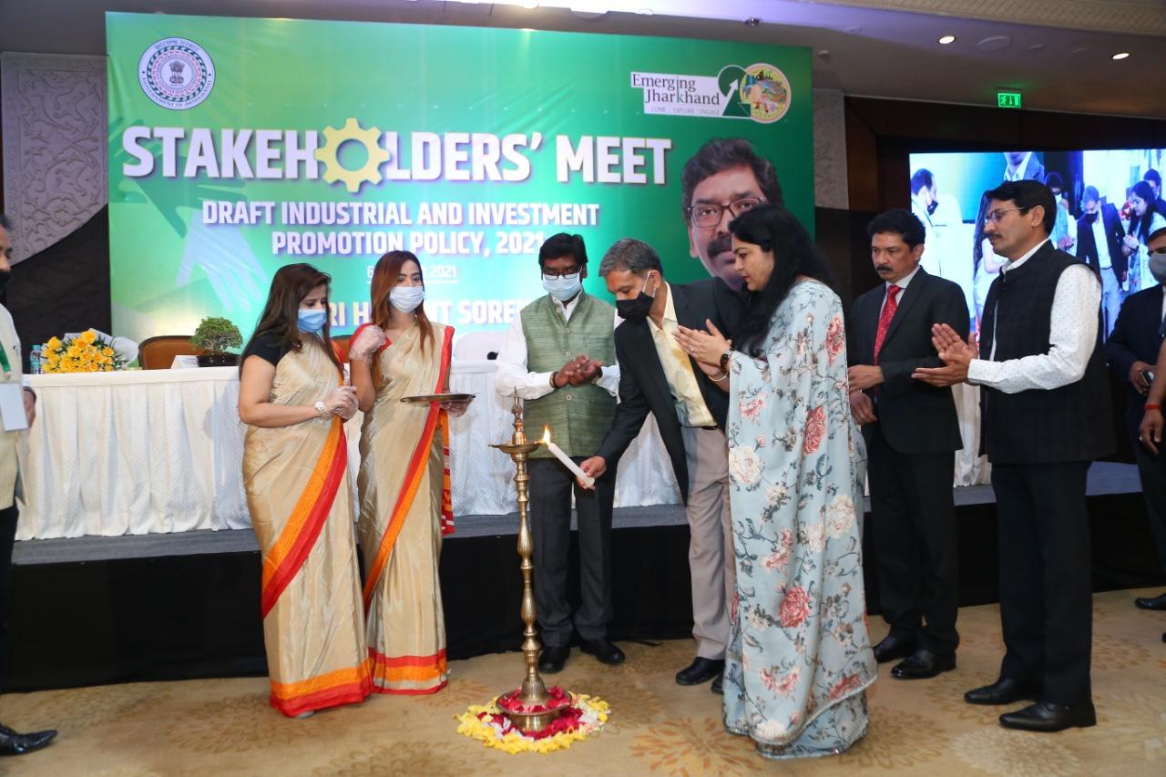 झारखण्ड को विकास के पथ पर ले जाने के लिए आईये हम मिलकर भूमिका तय करें …हेमन्त सोरेन, मुख्यमंत्री झारखण्ड